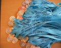 медали за участие с брандирана лента за състезание
