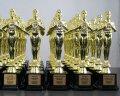 статуетка Оскар с метална табелка